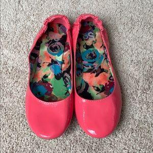 Pink Ballet Flats Size 9
